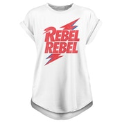 David Bowie - Rebel Rebel Men's Large T-Shirt - White