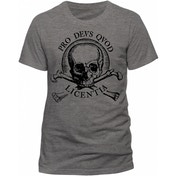 Uncharted 4 - Skull Men's Large T-Shirt - Grey