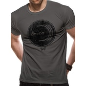 Westworld - Delos Logo Men's Small T-Shirt - Grey