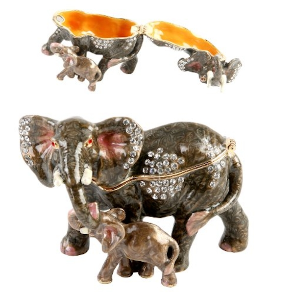 Treasured Trinkets Elephant & Calf