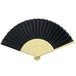 Japanese Bamboo Folding Fans - Pack of 10 | Pukkr - Image 4