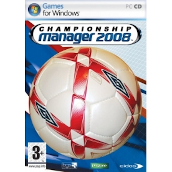 Championship Manager 2008 Game PC