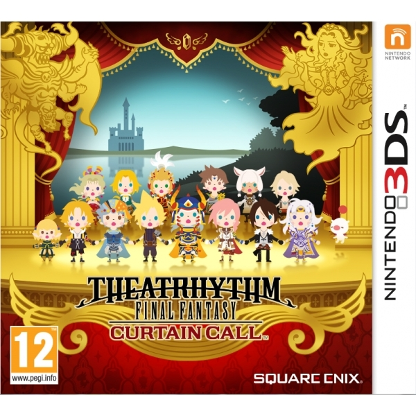 Theatrhythm Final Fantasy Curtain Call 3DS Game