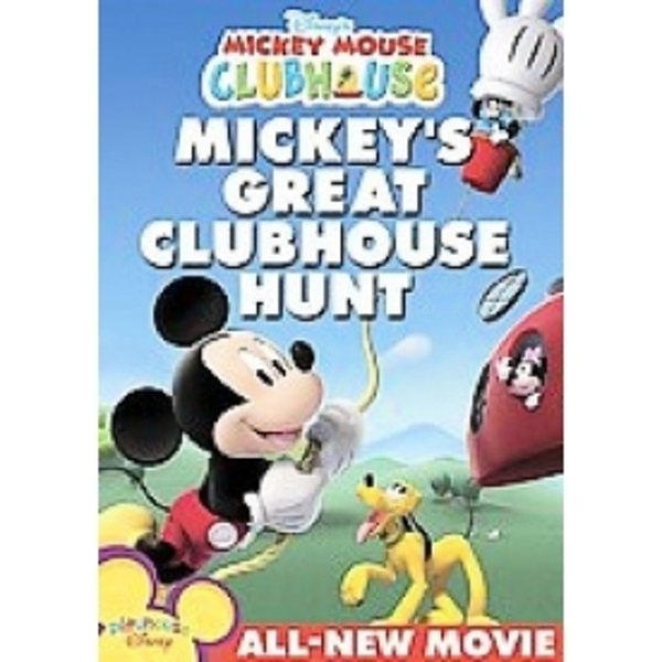 Mickey Mouse Clubhouse Mickeys Great Clubhouse Hunt DVD