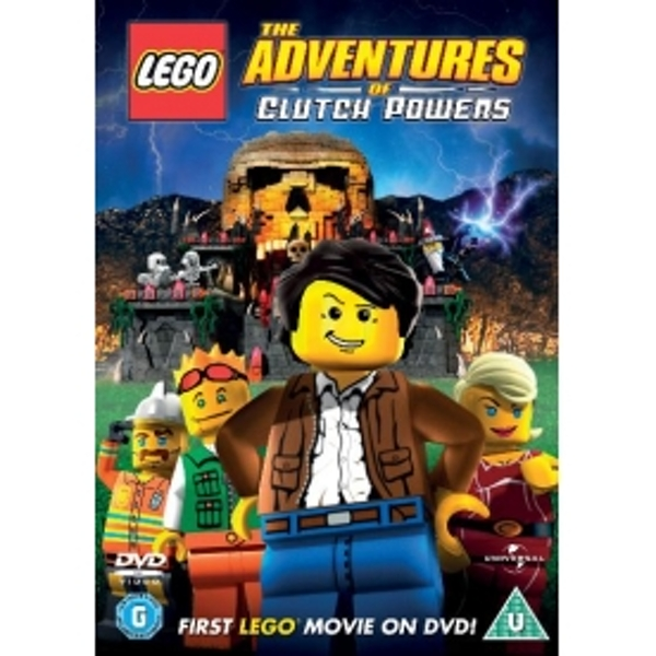 Lego The Adventures Of Clutch Powers DVD