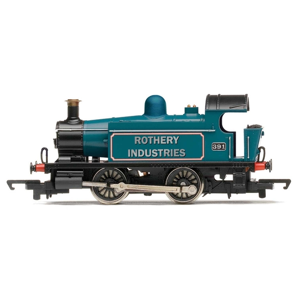 Hornby Rothery Industries Ex-GWR 101 Class 0-4-0T 391 Era 4/5 Model Train