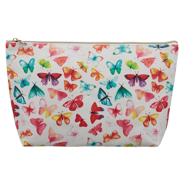 Butterfly Large PVC Wash Bag