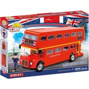 Ex-Display Cobi Action Town London Bus - 435 Toy Building Bricks Used - Like New