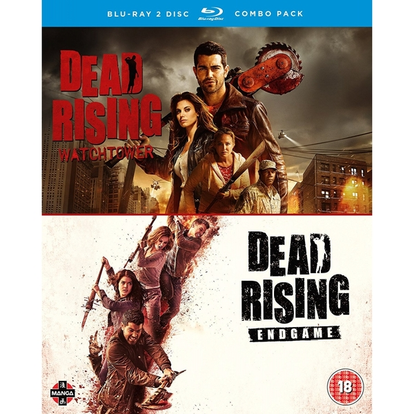 Dead Rising: Watchtower/Endgame Double Pack Blu-ray