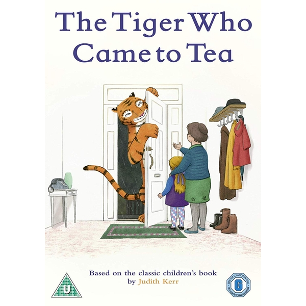 The Tiger Who Came to Tea 2019 DVD