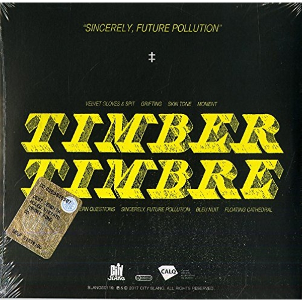 Timber Timbre - Sincerely, Future Pollution CD
