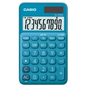 Casio SL310UC-BU My Style 10 Digit Handheld Calculator Blue