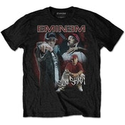 Eminem - Shady Homage Men's XX-Large T-Shirt - Black