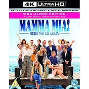 Mamma Mia: Here We Go Again! 4K UHD Blu-ray