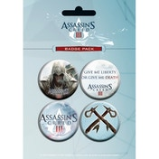 Assassin's Creed III Connor Badge Pack