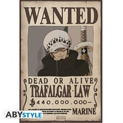 One Piece - Wanted Trafalgar Law Small Poster