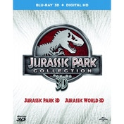 Double Pack: Jurassic Park 3D + Jurassic World 3D Blu-ray