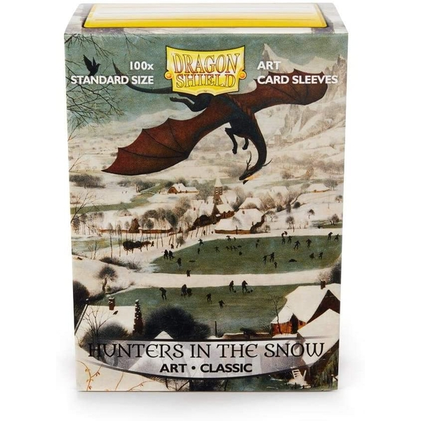 Dragon Shield - Hunters In The Snow Classic Art Sleeves - 100 Sleeves