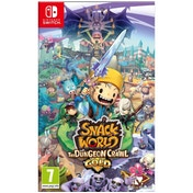 Snack World The Dungeon Crawl Gold Nintendo Switch Game