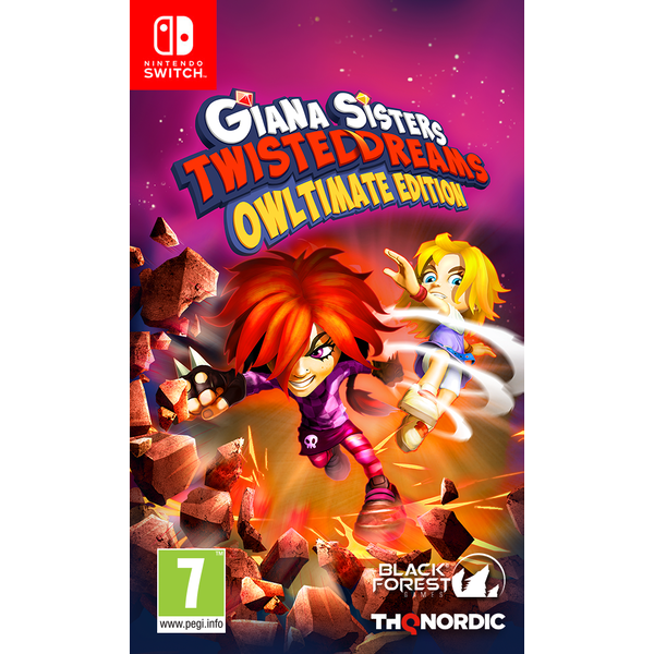 Giana Sisters Twisted Dream Owltimate Edition Nintendo Switch Game