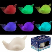 Colour Change Narwhal Decorative LED Nightlight