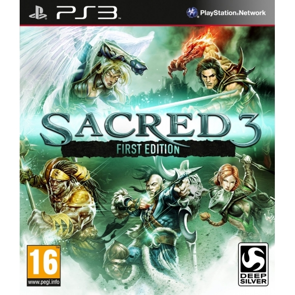 Sacred 3 First Edition PS3 Game - Image 1
