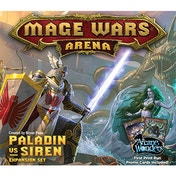 Paladin vs Siren Mage Wars Arena Expansion
