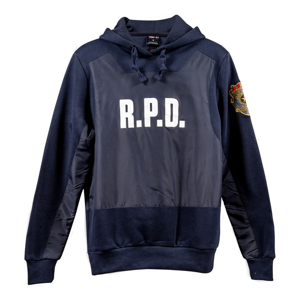 Resident Evil - R.P.D. Men's Medium Hoodie - Navy Blue