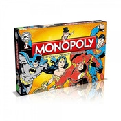 DC Comics Monopoly Board Game
