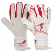 Precision Premier Junior White Shadow GK Gloves 6