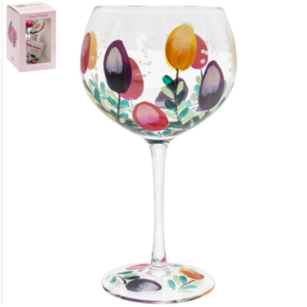 Tulips Glass By Lesser & Pavey