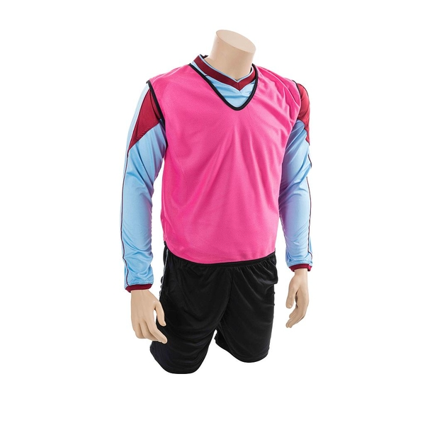 Mesh Training Bib Adult - Pink