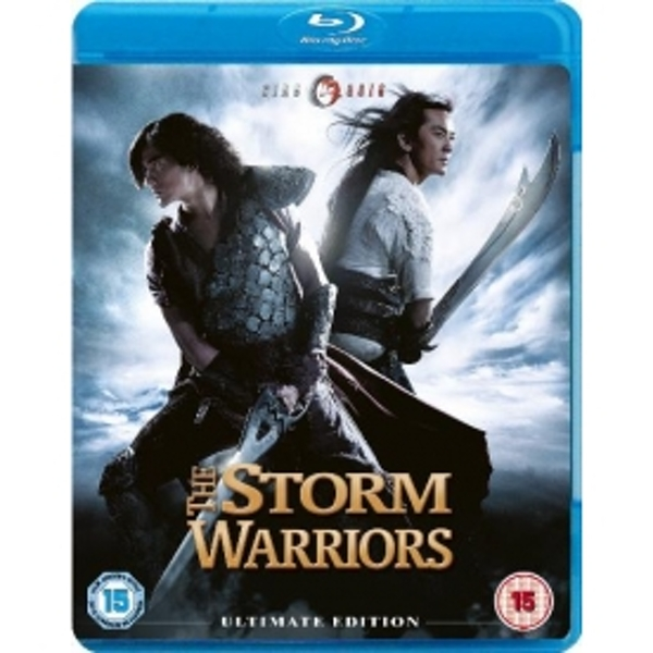 Storm Warriors Blu Ray