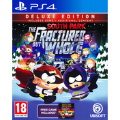 South Park The Fractured But Whole Deluxe Edition PS4 Game