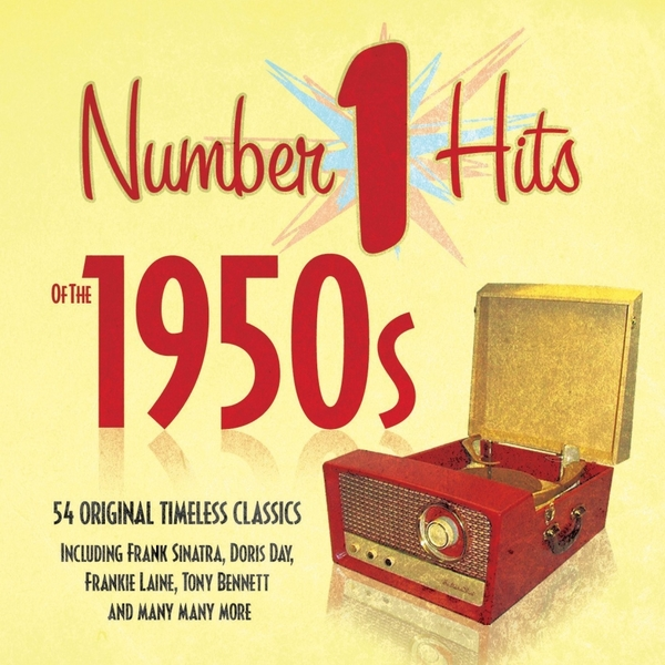 Various Artists - Number 1 Hits of the 1950s Fifties 50s Music CD