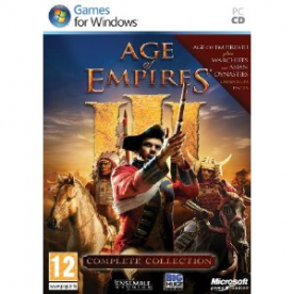 Age Of Empires 3 III Complete Collection Game PC