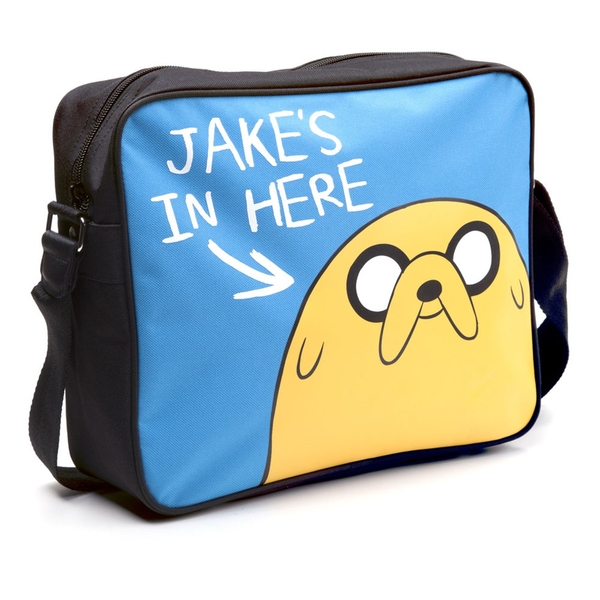 Adventure Time - Jake'S In Here Messenger Bag - Multi-Colour
