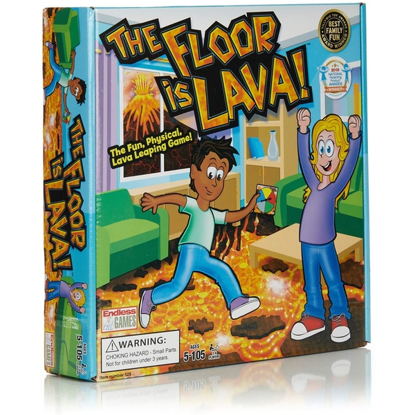 The Floor Is Lava Interactive Family Game