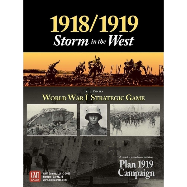 1918/1919 - Storm In The West Board Game