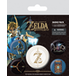 The Legend of Zelda: Breath Of The Wild - Z Emblem Badge Pack - Image 2