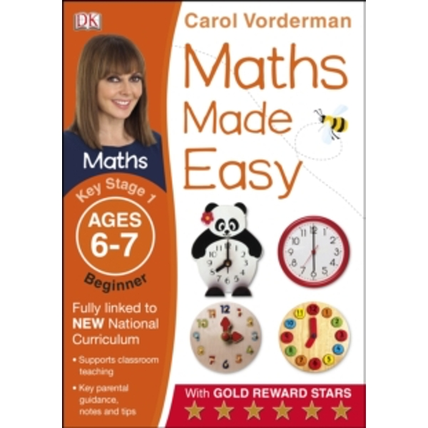 Maths Made Easy Ages 6-7 Key Stage 1 Beginner by Carol Vorderman (Paperback, 2014)