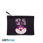 DISNEY - We're all mad here Blue Cosmetic Case