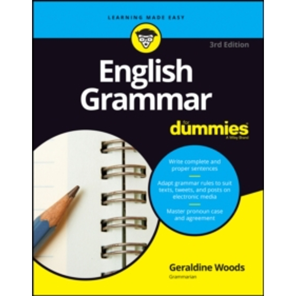 English Grammar For Dummies (For Dummies (Lifestyle)) Paperback