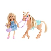 Barbie Club Chelsea Doll and Horse