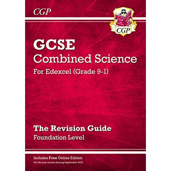 New Grade 9-1 GCSE Combined Science: Edexcel Revision Guide with Online Edition - Foundation by CGP Books (Paperback, 2016)