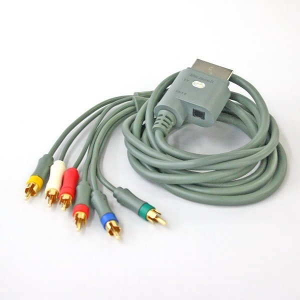 Official High Definition Component HD AV Cable Xbox 360