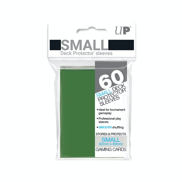 Ultra Pro Small Deck Protectors (60 Sleeves) - Green