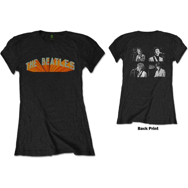 The Beatles - Live in Japan Women's Medium T-Shirt - Black