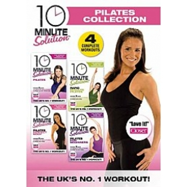 10 Minute Solution The Pilates Collection DVD