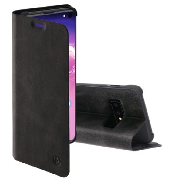 Hama Guard Pro Wallet Case for Samsung Galaxy S10e, Black
